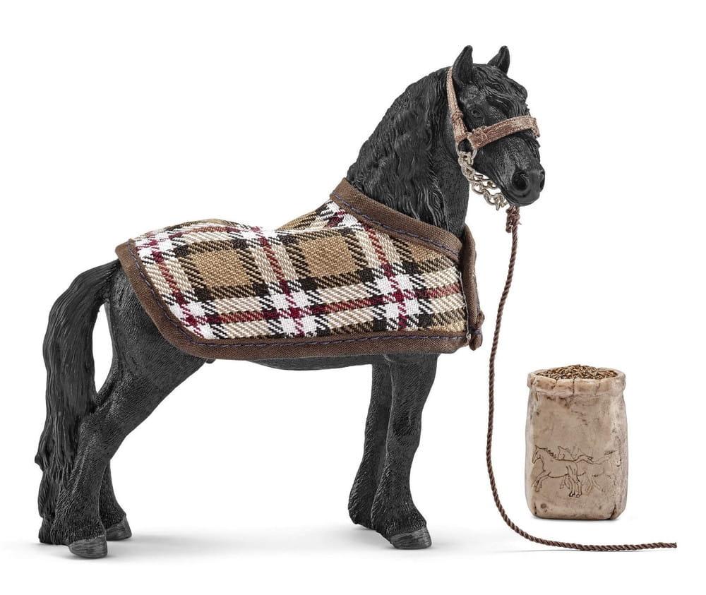 Набор Schleich 42269 для ухода за лошадьми Фризский