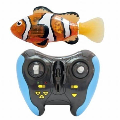 Роборыбка Zuru с пультом управления - Интерактивные животные