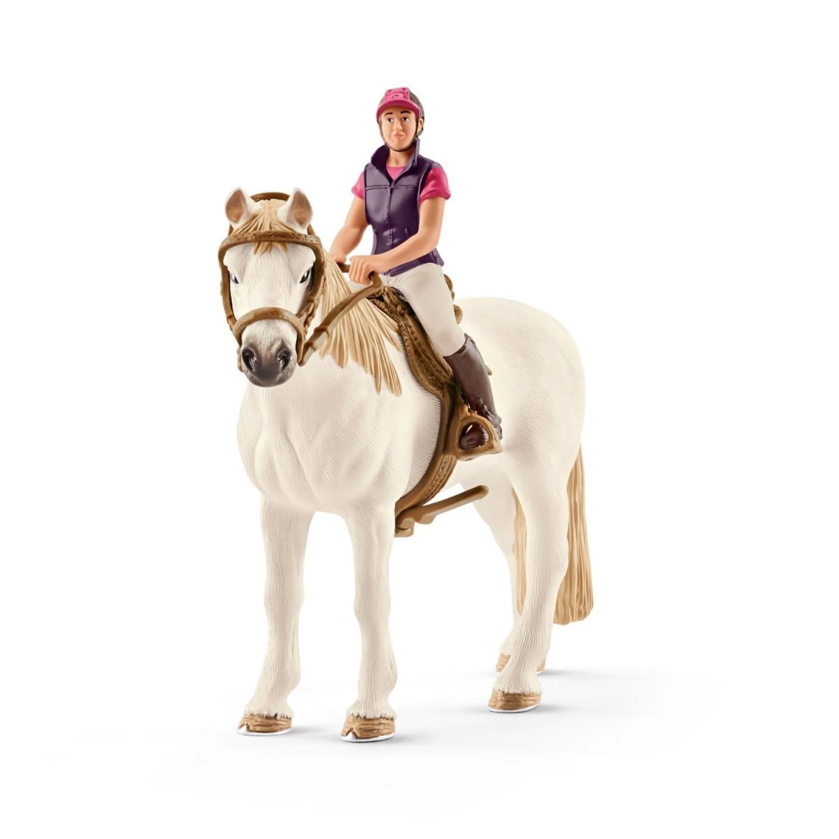 Набор Schleich 42359 Конкуристка с лошадью