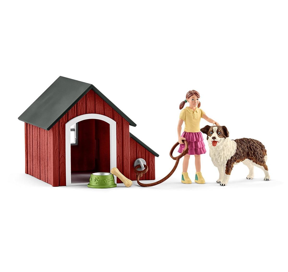 Набор SCHLEICH Собачья будка - Игровые наборы для девочек