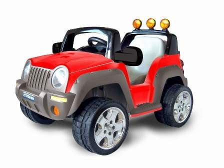 Купить Электромобиль TCV 335 Thunderbird красный в интернет магазине игрушек и детских товаров