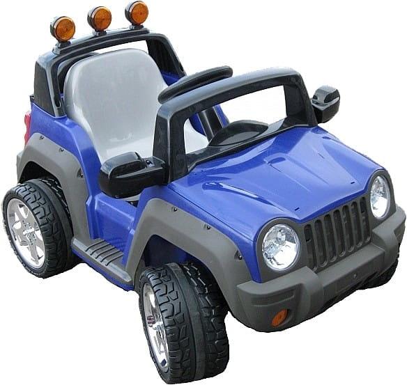Купить Электромобиль TCV 335 Thunderbird голубой в интернет магазине игрушек и детских товаров
