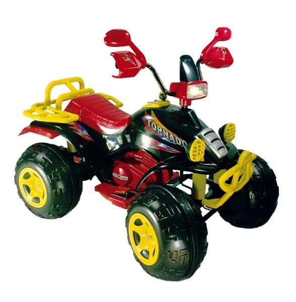 Купить Квадроцикл TCV 636 Tornado II черный в интернет магазине игрушек и детских товаров