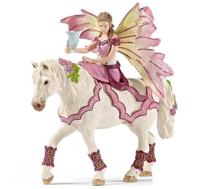Фигурка Schleich 70519 Bayala Фея-наездница в праздничной одежде