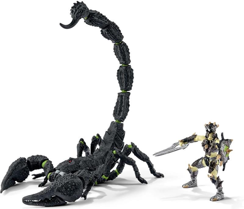 Игровой набор Schleich 70124 Eldrador Скорпион с всадником