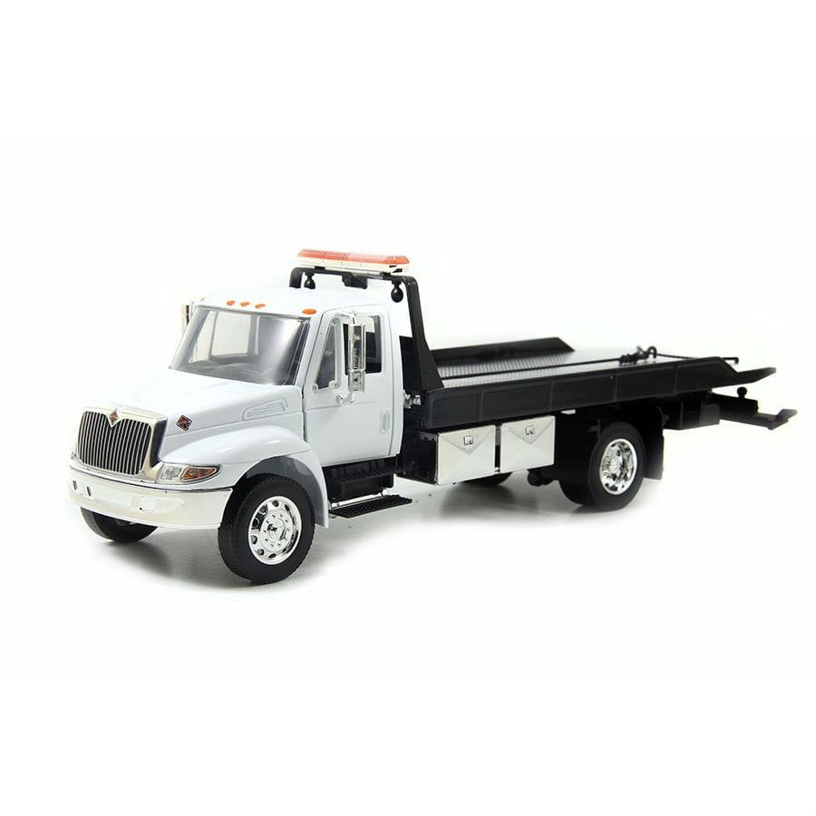 Буксирный грузовик Jada Toys 92351-WHITE International Flat Bed Tow Truck Durastar 1:24