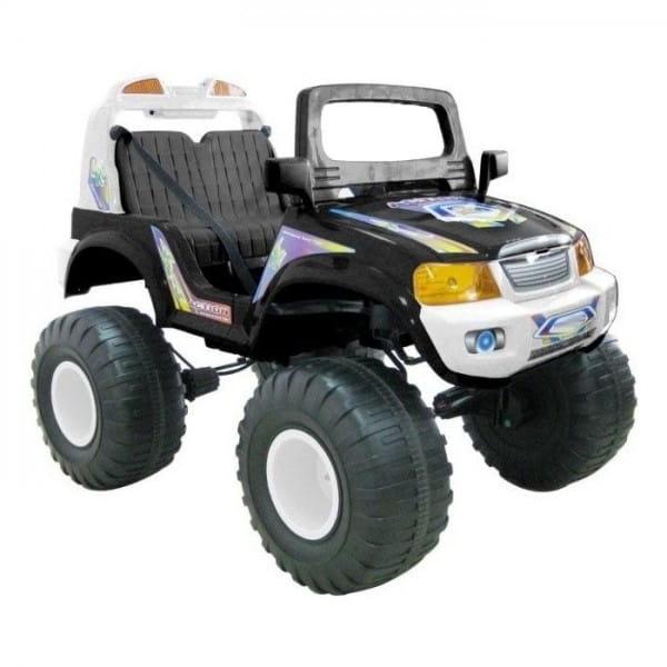 Радиоуправляемый электромобиль Chien Ti Off Roader 4x4 черный