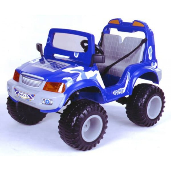 Радиоуправляемый электромобиль Chien Ti Off Roader 4x4 синий