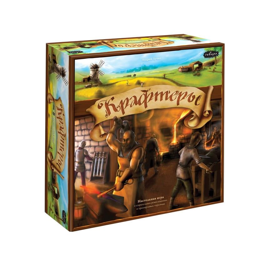 Настольная игра Сквирл КРА006 Крафтеры