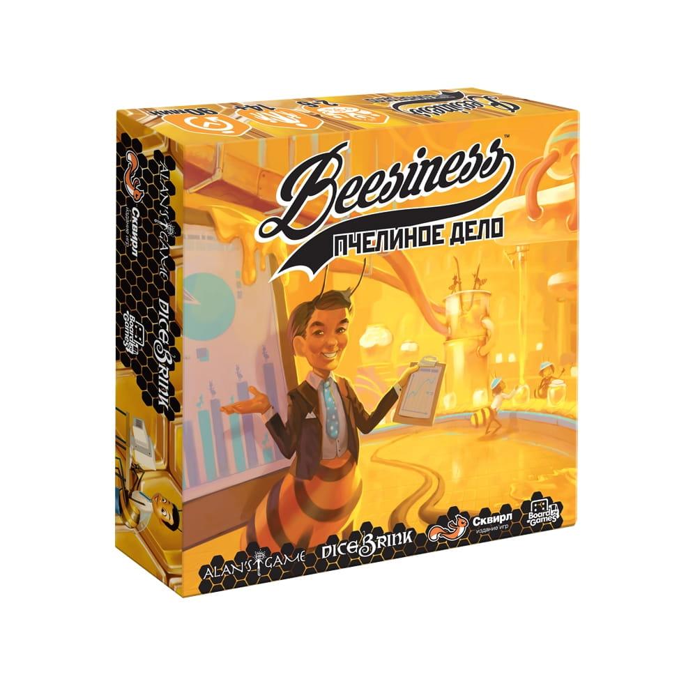 Настольная игра Сквирл БИИ015 Биизнес - Пчелиное дело