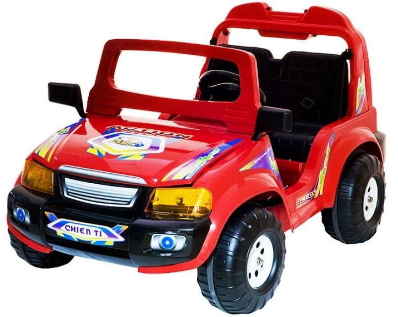 Радиоуправляемый электромобиль Chien Ti CT-855RC Touring красный