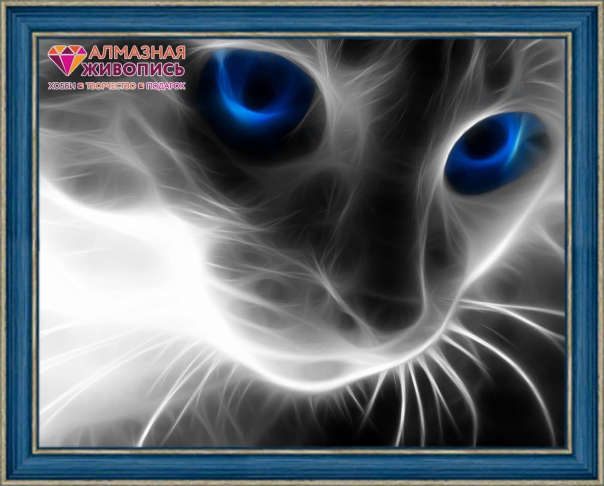Мозаика Алмазная живопись Кошачий взгляд