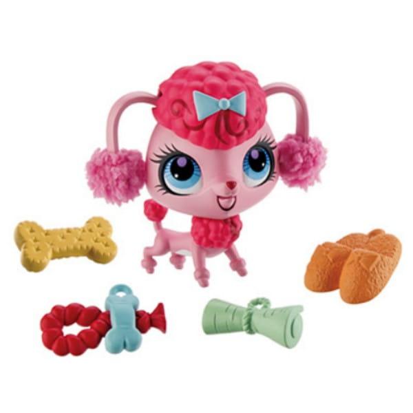 Купить Игровой набор Littlest Pet Shop Трюки и таланты - Пудель (Hasbro) в интернет магазине игрушек и детских товаров