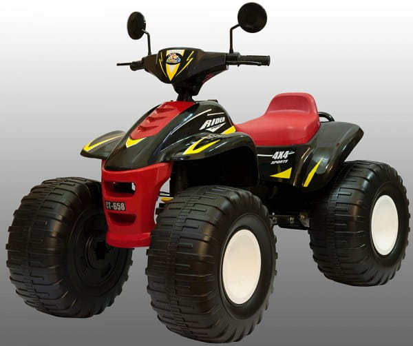 Квадроцикл Chien Ti CT-658 Jet Runner Big Beach Racer - черный