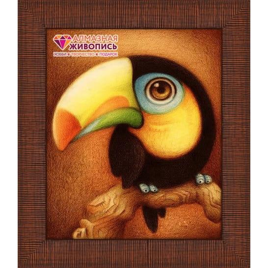 Мозаика Алмазная живопись Какаду