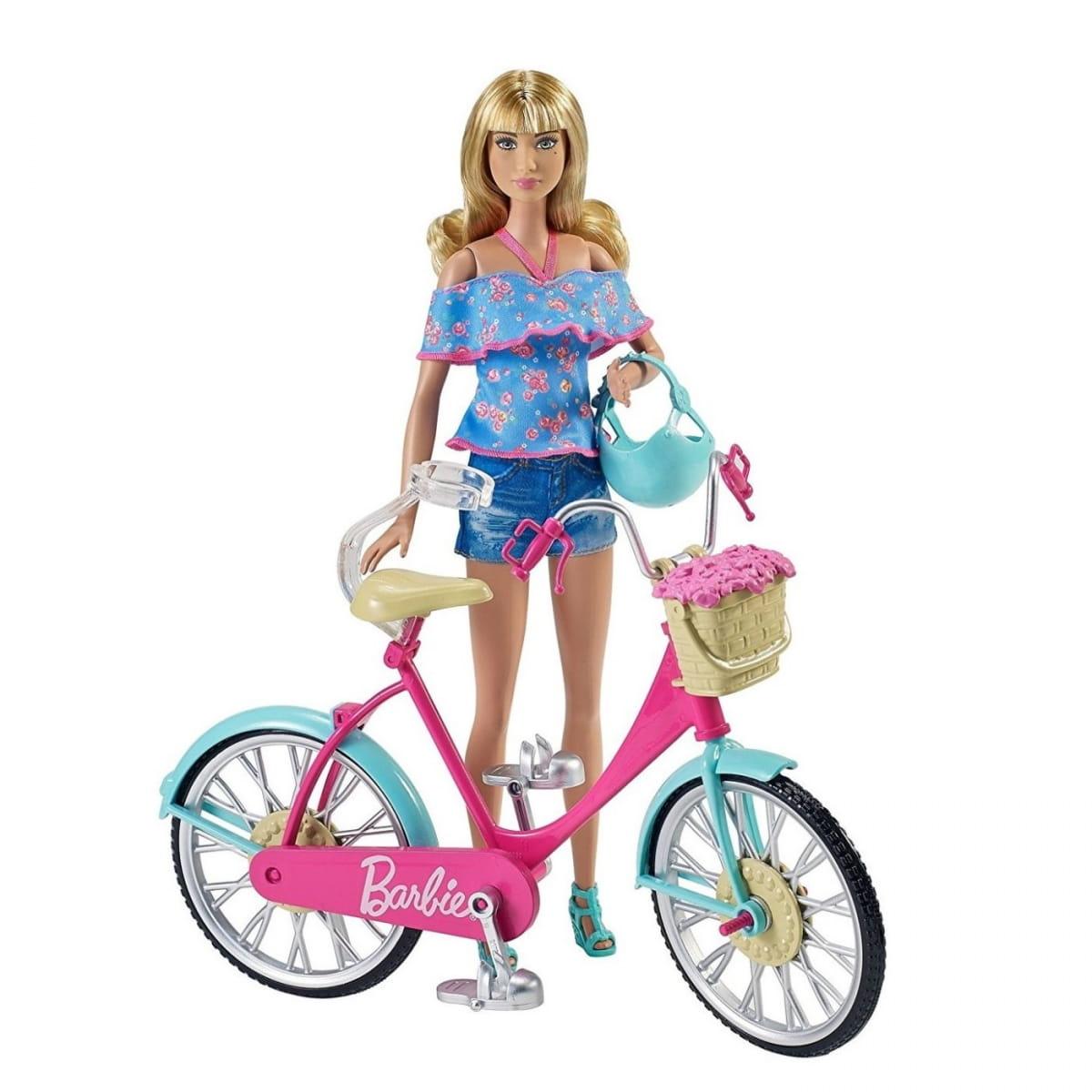 Игровой набор Barbie DVX55 Барби Велосипед (Mattel)
