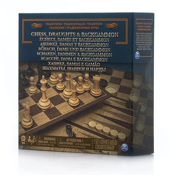 Настольная игра Spin Master 6038107 3 в 1