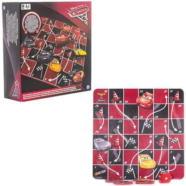 Настольная игра Spin Master Канаты и лестницы Тачки-3