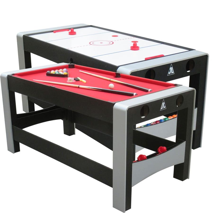 Игровой стол DFC ES-GT-66322 Feria 2 в 1 (бильярд и аэрохоккей)