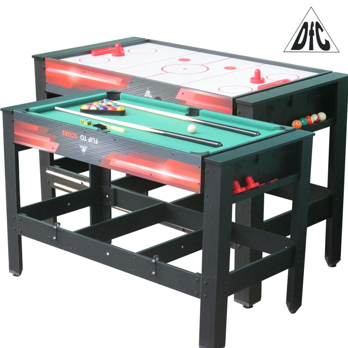 Игровой стол DFC ES-GT-48242 Drive 2 в 1 (бильярд и аэрохоккей)