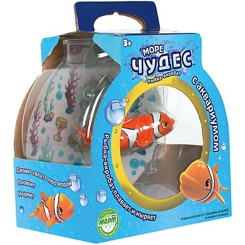 Игровой набор-аквариум Море чудес Рыбка-Акробат Лаки - Интерактивные животные