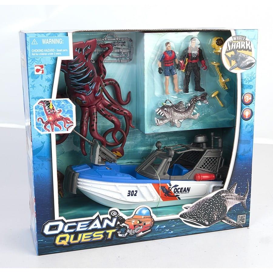 Игровой набор Chap Mei 523051 Ocean Quest - Опасное приключение акванавтов