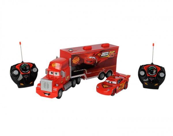 Купить Радиоуправляемая машина Dickie МакТрак 46 см и Молния МакКуин 17 см 1:24 в интернет магазине игрушек и детских товаров