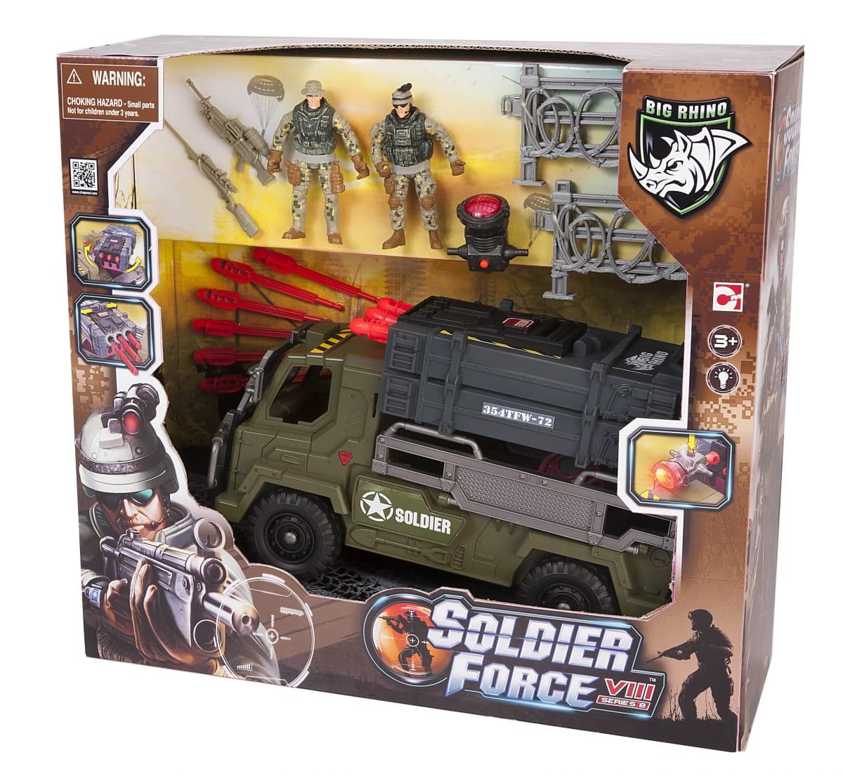 Игровой набор Chap Mei 521006 Soldier Force - Мобильный ракетный комплекс