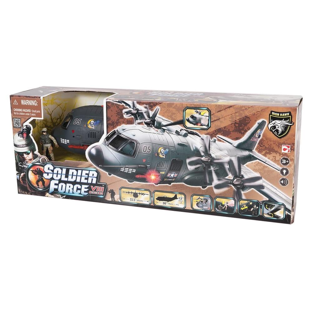 Игровой набор Chap Mei 521015 Soldier Force - Военно-транспортный самолет