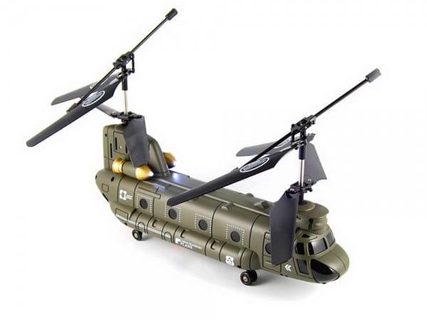 Купить Радиоуправляемый вертолет Syma Chinook S0221:32 в интернет магазине игрушек и детских товаров