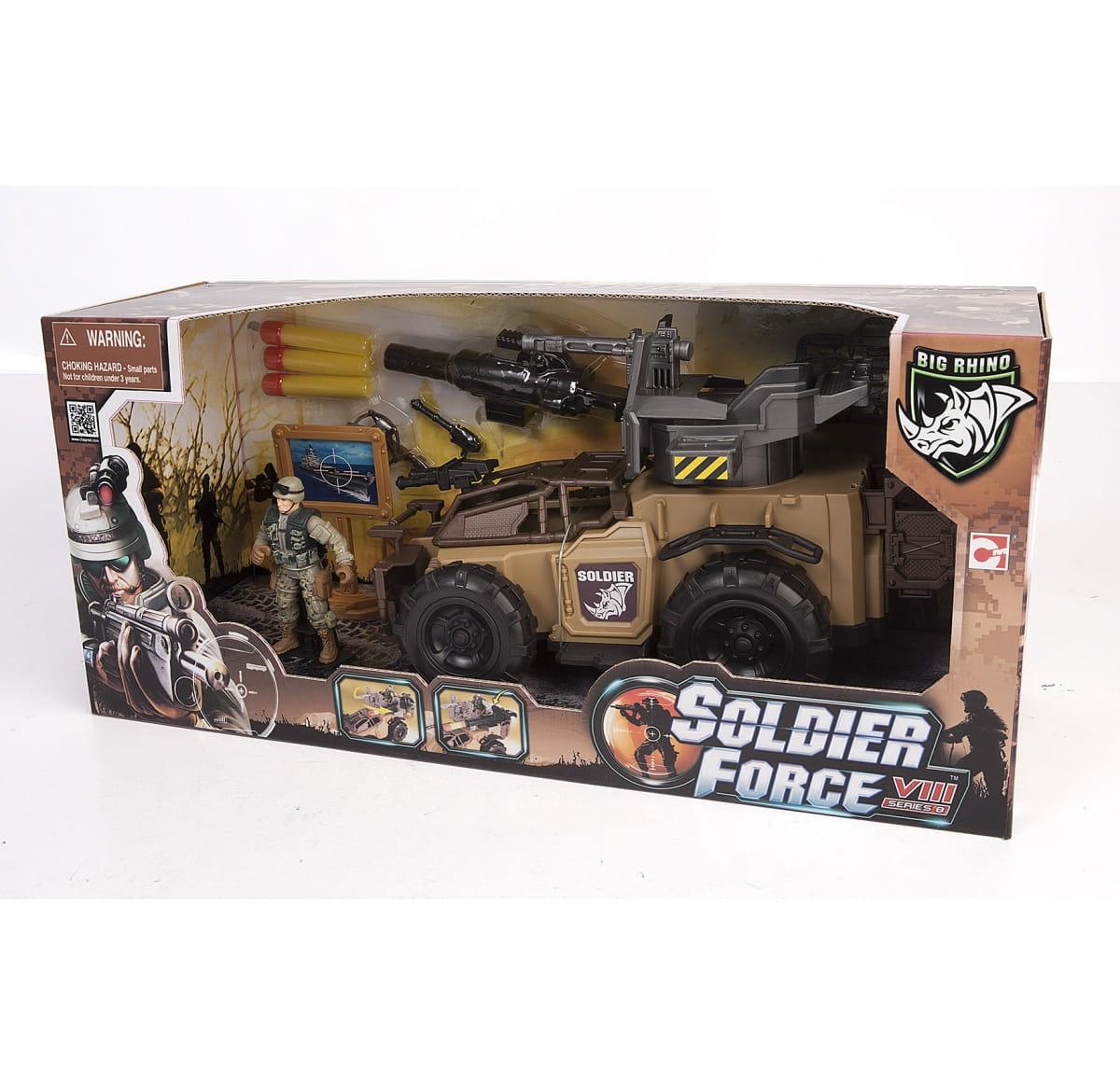 Игровой набор Chap Mei 521065 Soldier Force - Ударный броневик