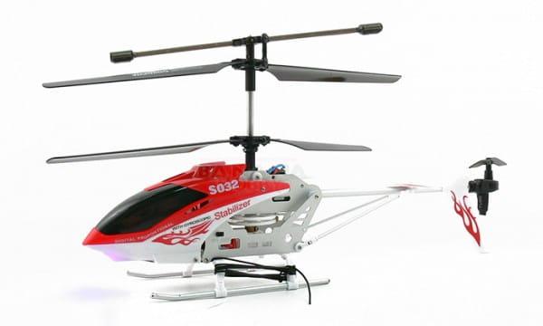Купить Радиоуправляемый вертолет Syma S032 Gyro 1:32 в интернет магазине игрушек и детских товаров