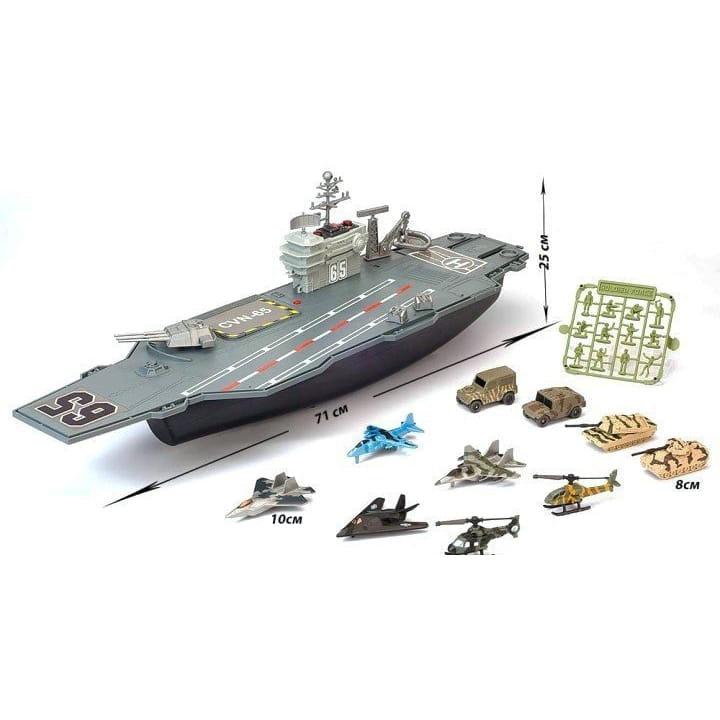 Игровой набор Chap Mei 524051 Нано-Армия - Авианосец
