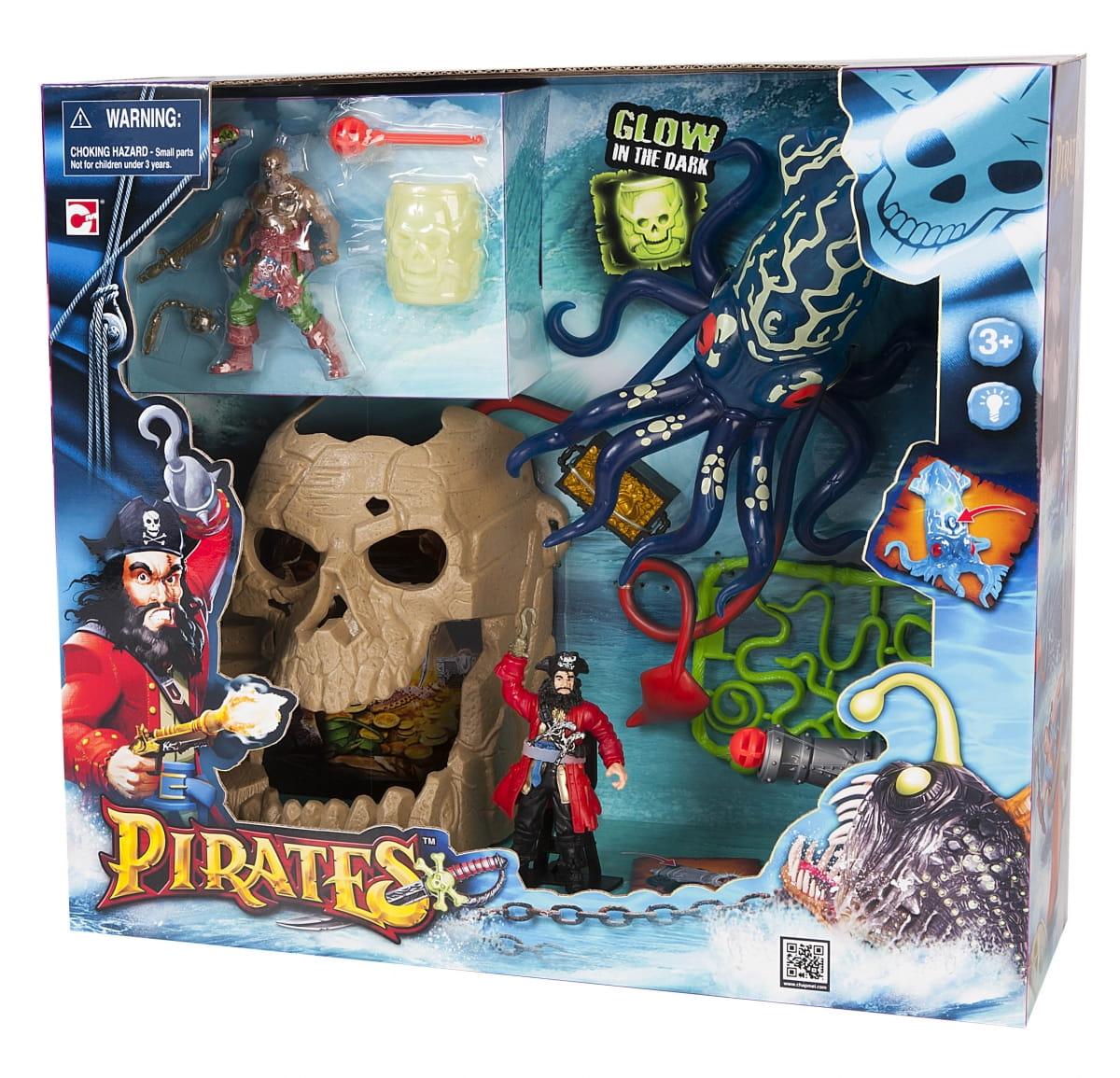 Игровой набор Chap Mei 505204 Пираты - Битва с гигантским кальмаром