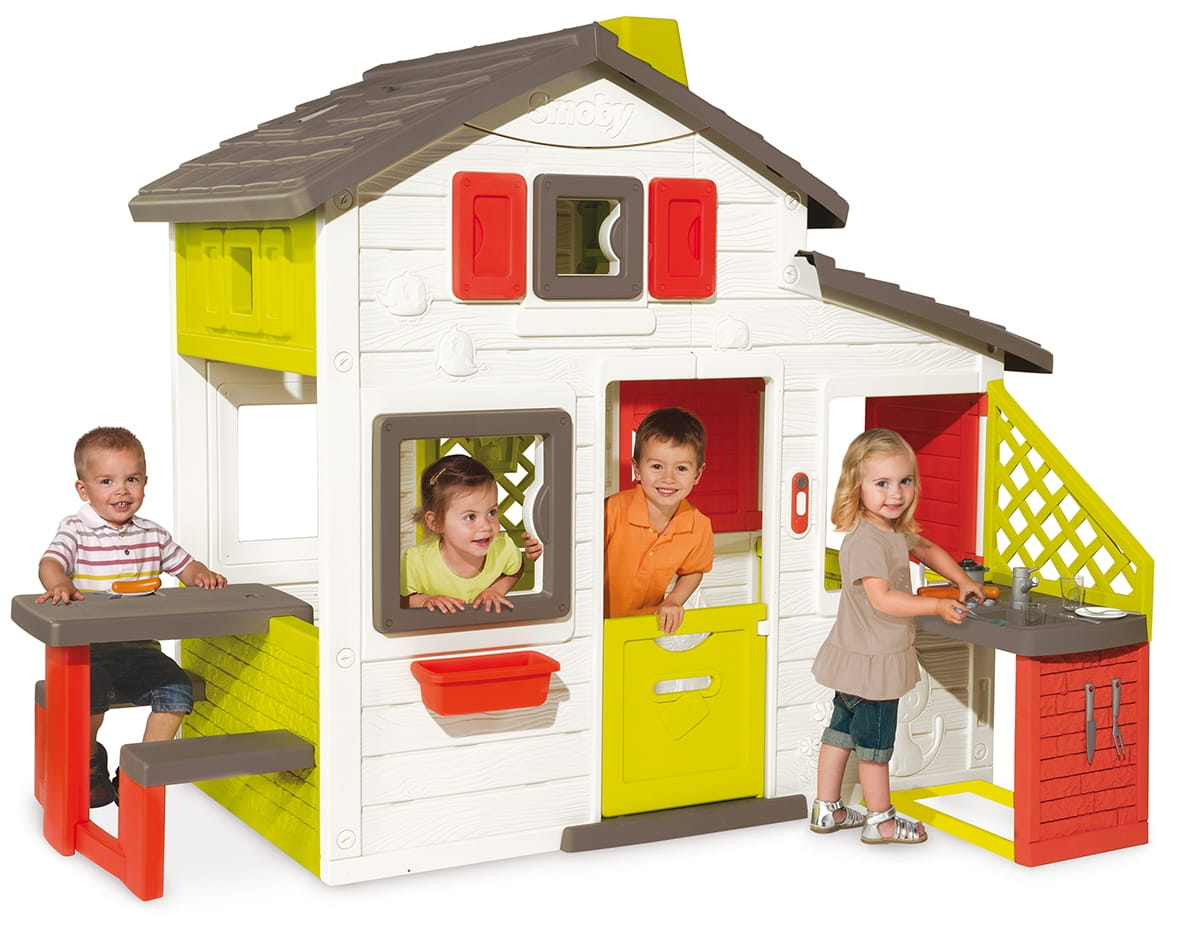 Игровой домик для друзей SMOBY с кухней