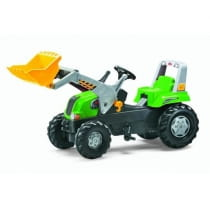 Фото Педальный трактор Rolly Toys Junior RT grun
