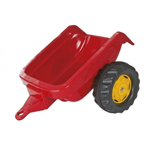 Прицеп к педальному трактору Rolly Toys 121700 Kid Trailer - красный