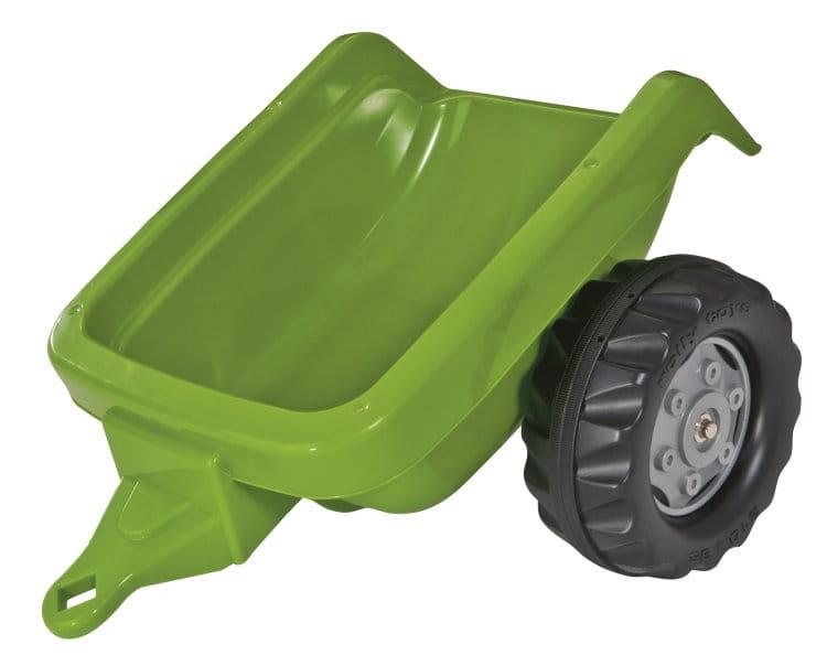 Прицеп к педальному трактору Rolly Toys 121748 Kid Trailer - зеленый