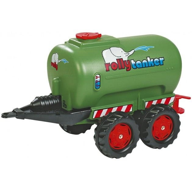Прицеп-цистерна для педального трактора Rolly Toys rollyTanker silber - зеленый