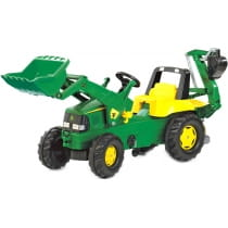Фото Педальный трактор Rolly Toys Junior John Deere