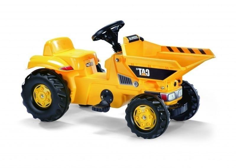 Педальный трактор Rolly Toys Rolly Dumperkid CAT - Каталки и ходунки