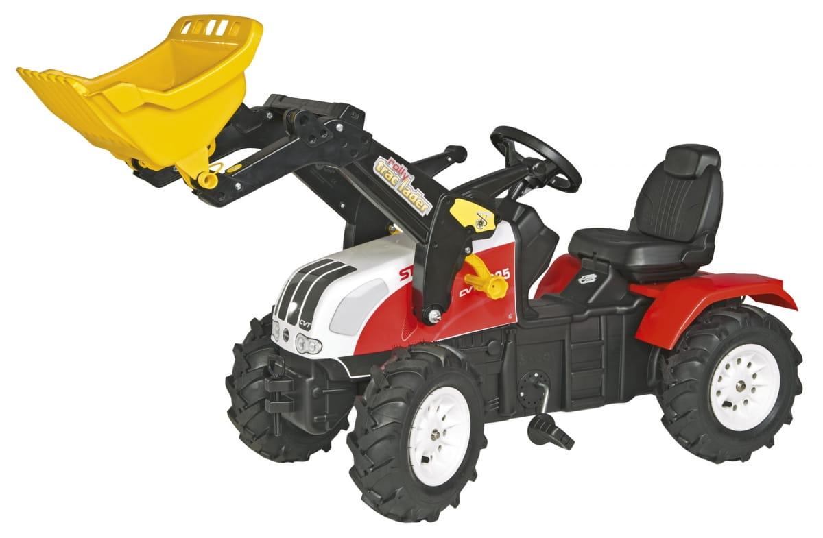 Педальный трактор Rolly Toys Farmtrac Steyr CVT 6230 - Каталки и ходунки