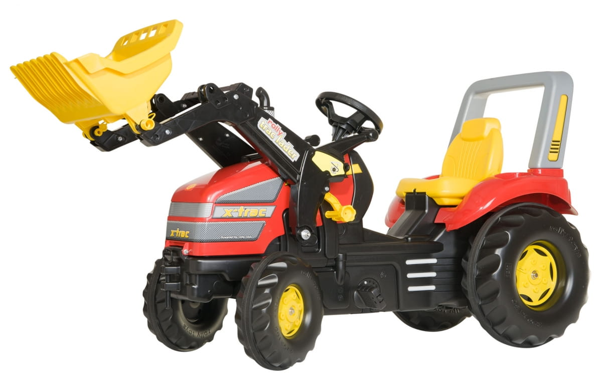Педальный трактор Rolly Toys rollyX-Trac 2 - Каталки и ходунки