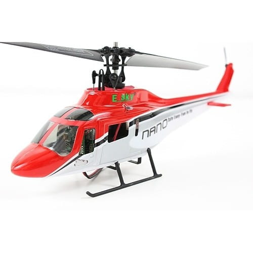 Купить Радиоуправляемый вертолет E-sky 3D Nano красный в интернет магазине игрушек и детских товаров