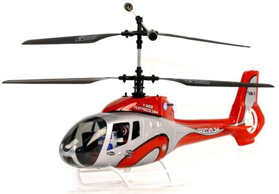 Купить Радиоуправляемый вертолет E-sky 3D EC-130 Hunter красный в интернет магазине игрушек и детских товаров