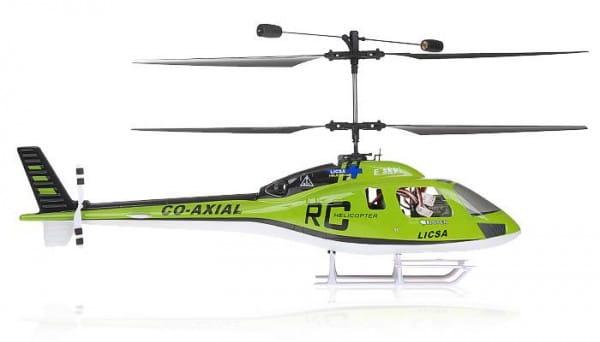 Купить Радиоуправляемый вертолет E-sky 3D Big Lama зеленый в интернет магазине игрушек и детских товаров