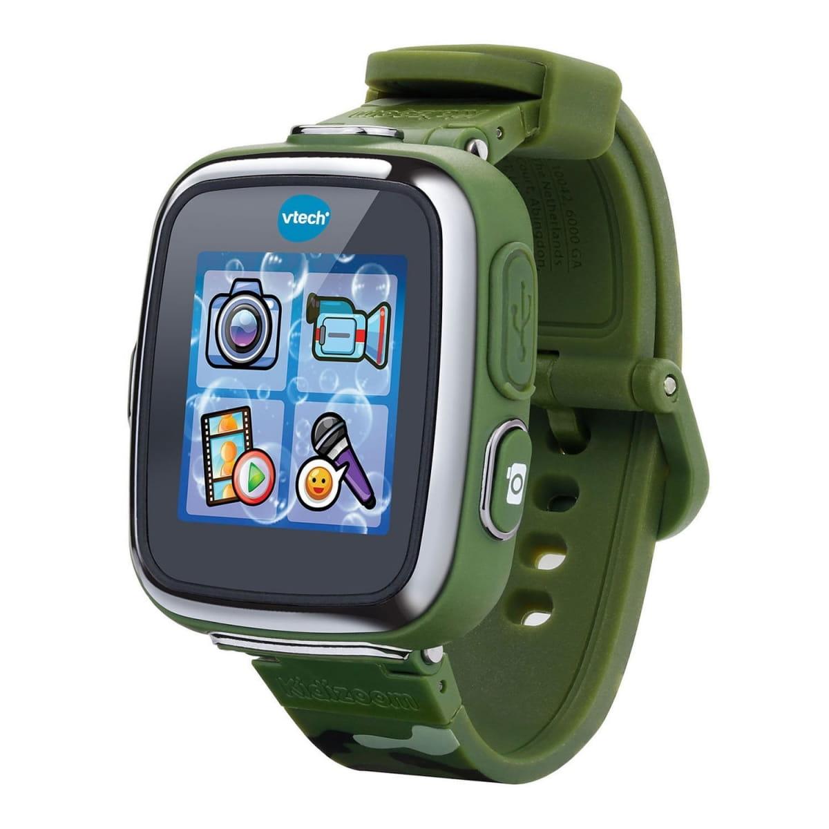 Цифровые часы Vtech Kidizoom SmartWatch DX - камуфляжные