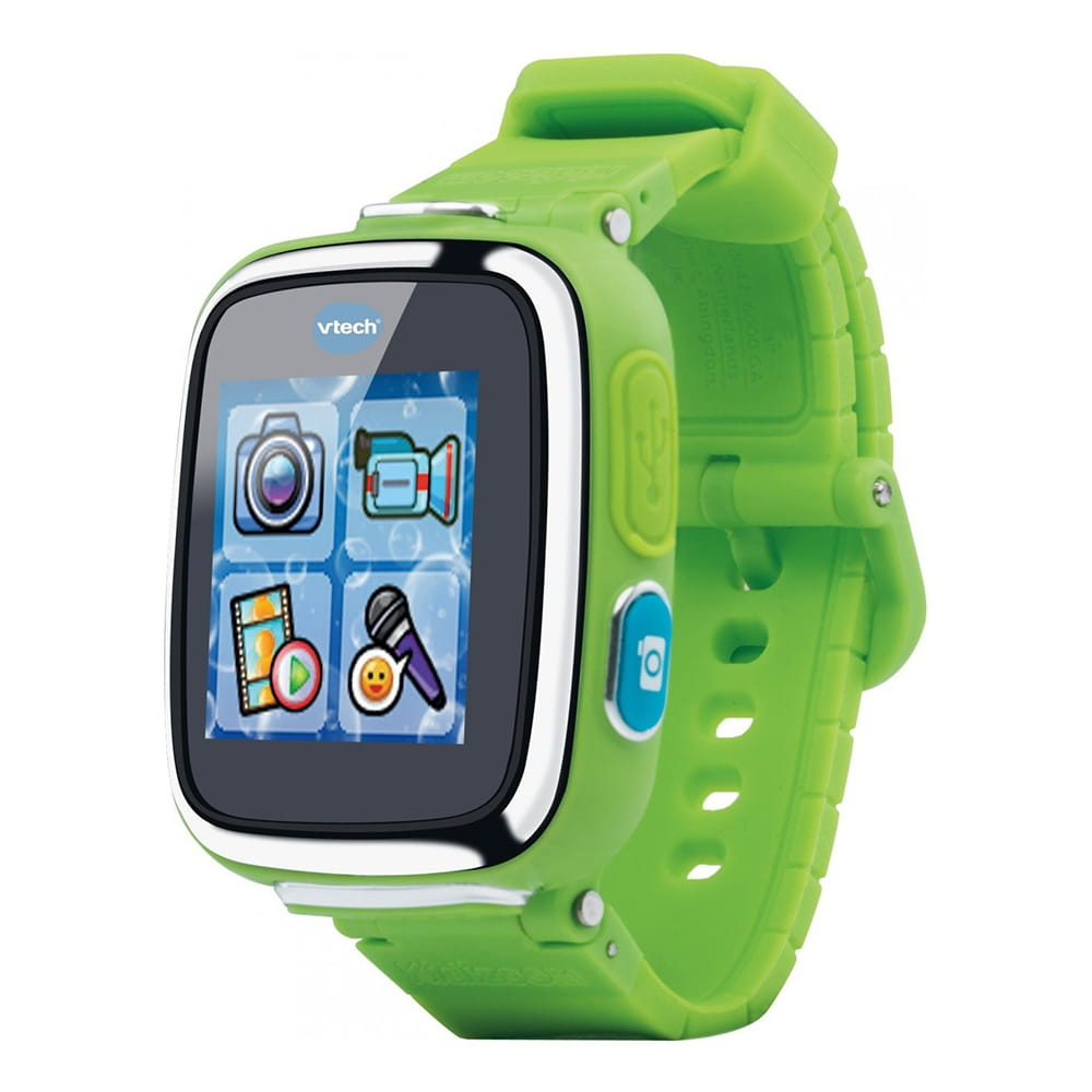 Цифровые часы Vtech Kidizoom SmartWatch DX  зеленые - Электроника для детей