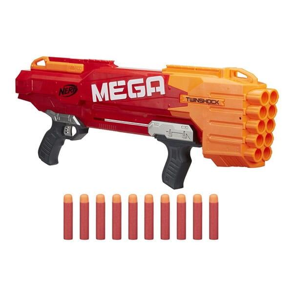 Мега бластер Nerf Твиншок (HASBRO) - Оружие