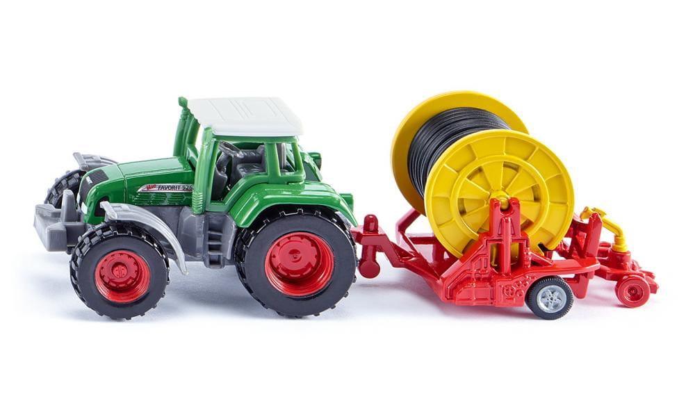 Трактор с поливной бобиной Siku